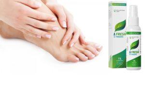 Que es Fresh Fingers foot spray, ingredientes - funciona?