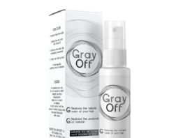 GrayOFF Updated guide 2019, price, reviews, effect - forum, hair spray, ingredients - side effects? Taiwan - manufacturer