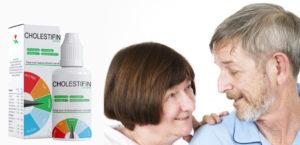 Cholestifin drops, dosage - side effects